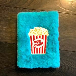 Fuzzy Notebook 128 Ruled Pages NWT POPCORN